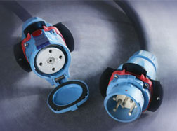 Meltric's DECONTACTORTM Series switch-rated plugs and receptacles